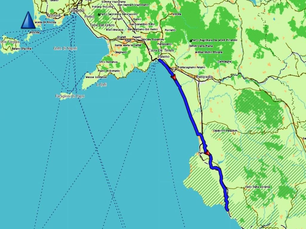 Salerno - Marina di Ascea